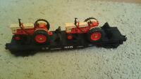 MTH Rail King Wagon Ferme & 2 Tracteurs 30-7642.