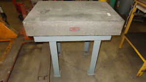 Mitutoyo Graplate Table, Repurpose as Kitchen Island, In Auction London Ontario image 1