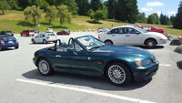 BMW Z3 CONVERTIBLE ONLY 98,000KM!