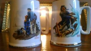 Norman Rockwell Museum Mugs - REDUCED!!
