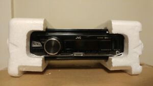 JVC Car Stereo with Bluetooth (Single Din) (LIKE NEW)