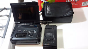 Rare Sony video recorder monitor  GV  S50