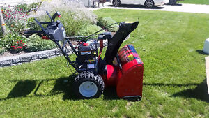 NEW SNOWBLOWER used 2 SEASON'S Invest In Your Future