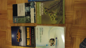 Text books - Business and Electives