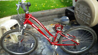 Fanstastic Red Woman Bike - for sale !