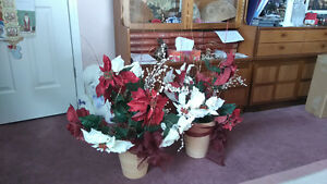 Decorative Poinsettia's for your Home