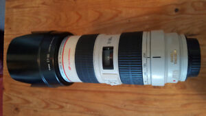 Objectif Canon 70-200mm f/2.8L IS USM Lens
