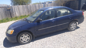 2002 Honda Civic As Is $600 Firm