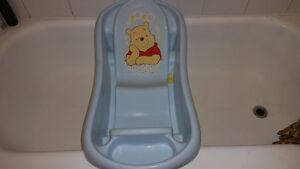 Infant Newborn to Toddler Baby Tub Winnie The Pooh