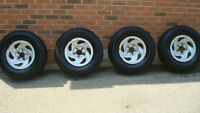 Michelin Truck Tires & Rims 225 70R 16 Ford F150 Like New