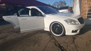2007 s550 with s600 amg bodykit and exhaust