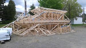 Fermes de toit et versants assemblés à vendre