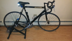 Vintage Cannondale Black Lighting 14 speed aluminum 58cm