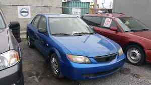 2003 Mazda Protege LX,AUTO,AIR,GARANTIE 1 ANS GRATUITE