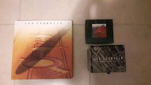 3 led zeppelin cd box sets for $80