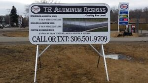 Aluminum Portable Advertising Signs (TR Aluminum Designs) Regina Regina Area image 5