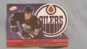 lots of numbered hockey cards