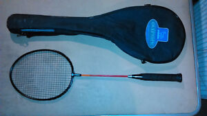BADMINTON RACKET WITH CASE, EXCELLENT CONDITION