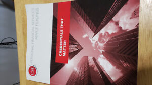 Brand-new Textbook for Personal Financial Services Advice (PFSA)