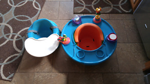 2 bumbo feeding chairs
