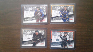 Upper deck Game Breakers hockey cards  4 card lot