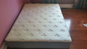 Special hand crafted double mattress as clean as new