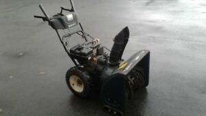8 hp 26 cut snowblower $325.00