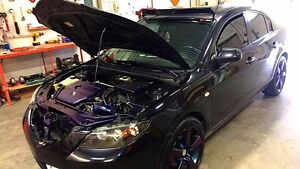 Colour changing 08 Mazda 3 with sport mode