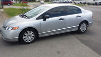 2007 Honda Civic PRICED TO SELL $6000 (Safety & e-test included)