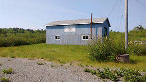 Garage--roughly 30' x 40' with 33.66 acres of land