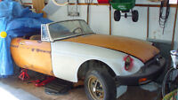 classic MGB for restoration