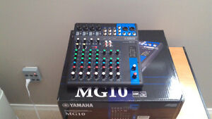 Yamaha mg 10 mixing console