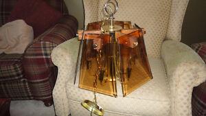 lampes de belles couleur ambre