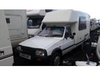 (10) CITROEN C15 ROMAHOME, 2 BERTH CAMPERVAN, CAT D REGISTERED WITH V-CAR