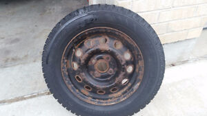 winter tires with rims London Ontario image 1