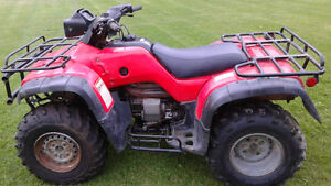 FOR SALE 2  2003 HONDA 4x4  QUADS FOR PARTS OR FIX