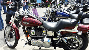 100TH ANNIVERSARY HARLEY DYNA WIDE GLIDE $ 9,900 MINT!!