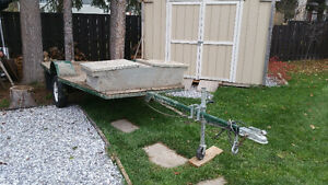 8.5 x 6 foot utility trailer great for quads or sleds