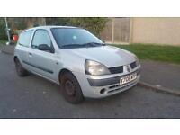 Renault Clio 1.2 Authentique, Low Mileage, Full MOT 2001 (Y reg), Hatchback