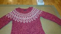 American eagle Hand knit wool sweater