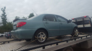 2005 COROLLA.. JUST IN FOR PARTS AT PIC N SAVE! WELLAND