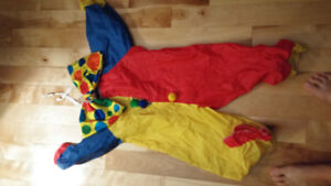 Costume clown enfant ! Environ 3 à 6 ans