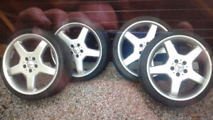 19 inch Mercedes wheels and tires