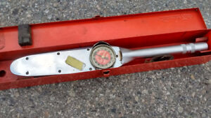SNAP ON TOOLS TORQUE WRENCH