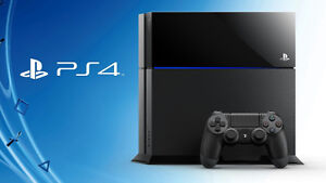 FS- sony playstation 4 system with controller