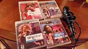 Playstation 3 games plus mic