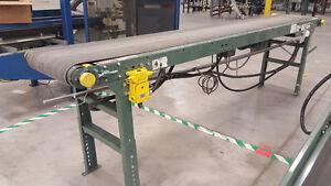 "Used Hytrol 10 ft x 24"" Conveyor Belt (T17)"