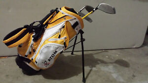 Kid's Golf Clubs and Bag For Sale