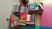 Kids books $10 for the whole box - 3 boxes avaliable