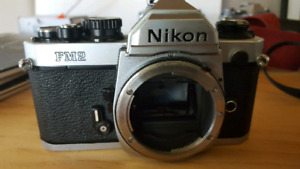 Nikon Fm2n and 28mm lens for sale